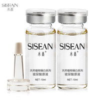 Wholesale Anti aging HA Hyaluronic acid ha liquid bottle ampoules moisturizing whitening anti oxidation anti wrinkle night cream skin care