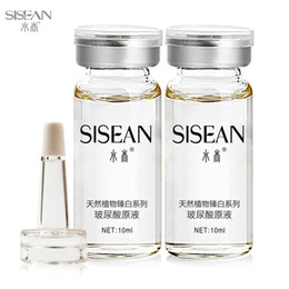 Wholesale Face Care Anti aging HA Hyaluronic acid ha liquid bottle ampoules moisturizing whitening anti oxidation anti wrinkle night cream skin care
