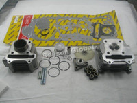 Wholesale mm Big Bore Kit Cylinder Head Piston Rings Scooter QMB139 GY6 cc cc Engine mm Valve