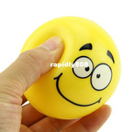 Wholesale Smiley ball child small rubber ball toy smiley cm spherule styleshipping drop