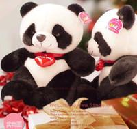 Cheap 26cm High-quality doll plush toys Stuffed Animal Toy Panda Bear Plush Toy Doll Cute Pillow Free shippingshipping drop