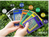 Wholesale 20pcs Ultra thin multi function calculator transparent computer solar touch screen transparent calculator simple fashion