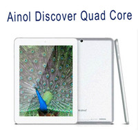 Wholesale Android Tablet PC Ainol Novo Discover Quad Core IPS Bluetooth Android GB GB Dual Camera x768P