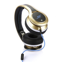 Wholesale 2013 NEW SMS AUDIO cent headphones SMS Audio DJ Pro Wireless SL600 STREET Gold black white fast ship via DHL sample for drop ship