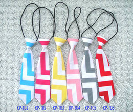 Wholesale the new fashion design chevron baby ties colors cute children s cotton neck ties all match ties for baby boy and girl
