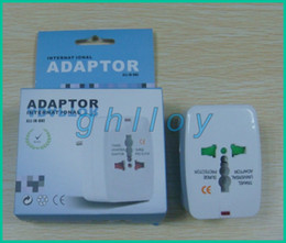 Wholesale High quality All in One Universal EU AU UK US Travel Power Plug Adapter Adaptor International up