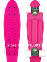 "Cheap free shipping 22"" Penny Original 2012 Range Nickel Skateboard Cruiser min colour complete plastic skateboard"