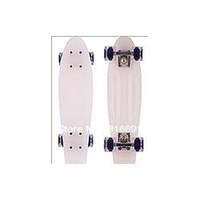 "Cheap Free Shipping Christmas gift 22"" Nickel Skateboard drift Block Neon Orange Cruiser Complete penny skateboard Longboard"