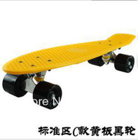 Wholesale 2012 New Nickel skateboard Complete Plastic Penny board longboards