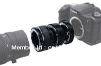 Wholesale Auto Focus Macro Extension Tube for Canon EF EF S lens to D D D D