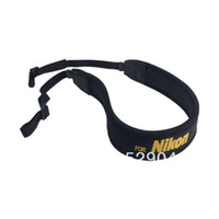 Wholesale Soft Neoprene Neck Strap yellow for Nikon D800 D800E D4 D3x D3s D2s D700 D400 D300s D300 D200 D100 D7100 D5200