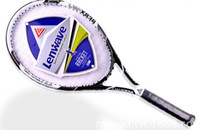 Wholesale Lenwave Carbon Aluminum Alloy Tennis Rackets LW X838 Moyu Black High Hardness