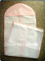 Wholesale Wedding dress bag clothes cover dust cover garment bags bridal gown bag wedding dress cover