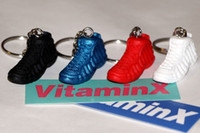 basketball shoes  souvenir keychain - 3D keychains Basketball fans Souvenirs keychain PVC colour for choose