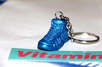 Wholesale 3D Basketball keychain Souvenirs shoes blue