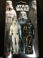 Wholesale Crazy toys white star wars a pair set