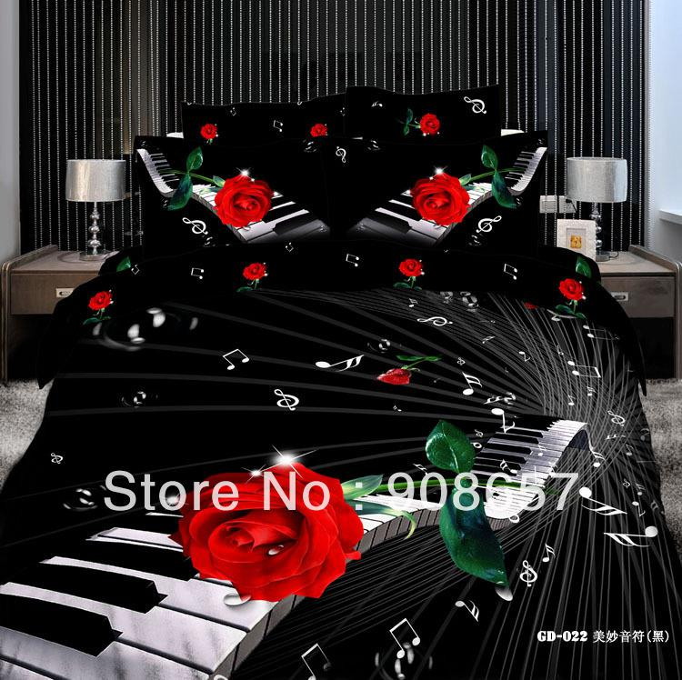 Black And White Photography Roses on Pianos Red Rose Black Piano Musical