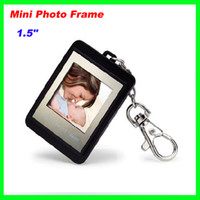 Wholesale Best Price top quality quot inch mini Digital LCD Photo Frame Picture with Keychain Supports Windows system