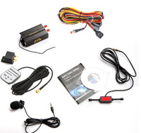 Wholesale Vehicle Car GSM SMS GPS Tracker TK103A Real time tracking Device Alarm System
