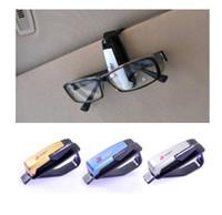 Cheap Wholesale - multi-funtion car glasses clip car eyeglasses frame card folders ticket holder free shipping 50pcs