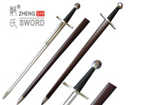 Wholesale Medieval Cutting Performance Sharpened Standard Medieval and Roman Swords