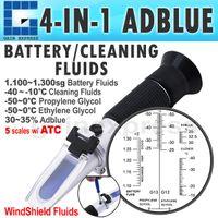 adblue urea - RHA ATC Hand Held Optical in Car Adblue Urea Concentration Testing Refractometer Battery Fluid Ethylene Propylene Glycol ATC