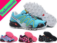 Wholesale Latest Colors Salomon speedcross salomon Running shoes Woman sport running shoes Womens sneakers