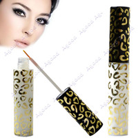 Wholesale Leopard Makeup Fake False Eyelash Double Eyelid Instant Adhesive Lasting Glue