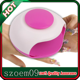 Wholesale New XS Mini Electric Portable Durable Cute Finger Toe Nail Blower Drying Dryer