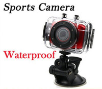 Wholesale 2013 New HD P Waterproof Sport DVR Camera with meter Water Resistant Case Portable Video recorder In Stock