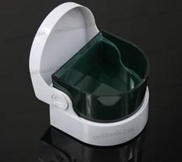 Ultra-sônico aspirador sem fio Ultra sônico prótese dentária diamante jóias relógio anel moeda dentaduras limpador MYY5220