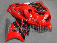 Wholesale red Silvery white CBR600F3 CBR600 F3 ABS Fairings Plastic Bodywork Set Body Kit Fairing for Honda CBR600 CBR F3 AH