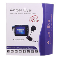 Wholesale Angel Eye KS M quot LCD screen mini video recording system Spy button DVR Motion Detection Car DVR