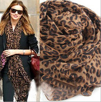 Wholesale 2013 Hot New Fashion Pashmina Scarf Shawl Leopard Warm Scarf Animal scarves Winter Wrap