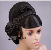 Wholesale Charming China Costume Wigs The whole wig Costume Studio Sets Stage Performances Wig accessories wig