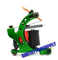 1 Piece custom tattoo machines - custom tattoo machine FK Irons tattoo machine Exactor II green style