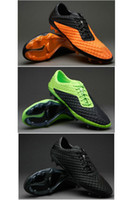 Wholesale 3colors Venom Outdoor Soccer Cleats Mens Football Shoes Design Ball Cleat Hotsale Team Sports Boots BEST Quaity Cheap On Sale Dropship