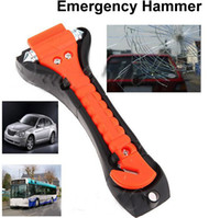 Wholesale 200 Car Auto Emergency Safety Hammer Belt Window Breaker Cutter Bus Escape Tool