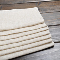 Wholesale New Fashion Table Napkin Good Quality Minimalist Modern Linen Cloth Napkins Without Embroidery Cloth Napkins