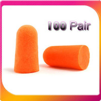 Wholesale Hot sale amp Pair Classic Soft Ear Foam Ear Plugs Defenders Noise Reduction Protectors Earplugs