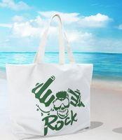 Cheap Women Brand Skull Rock Designer Handbag Free Shipping Ladies Canvas Noctilucous Handbag All Season Famous Korean Style Tote