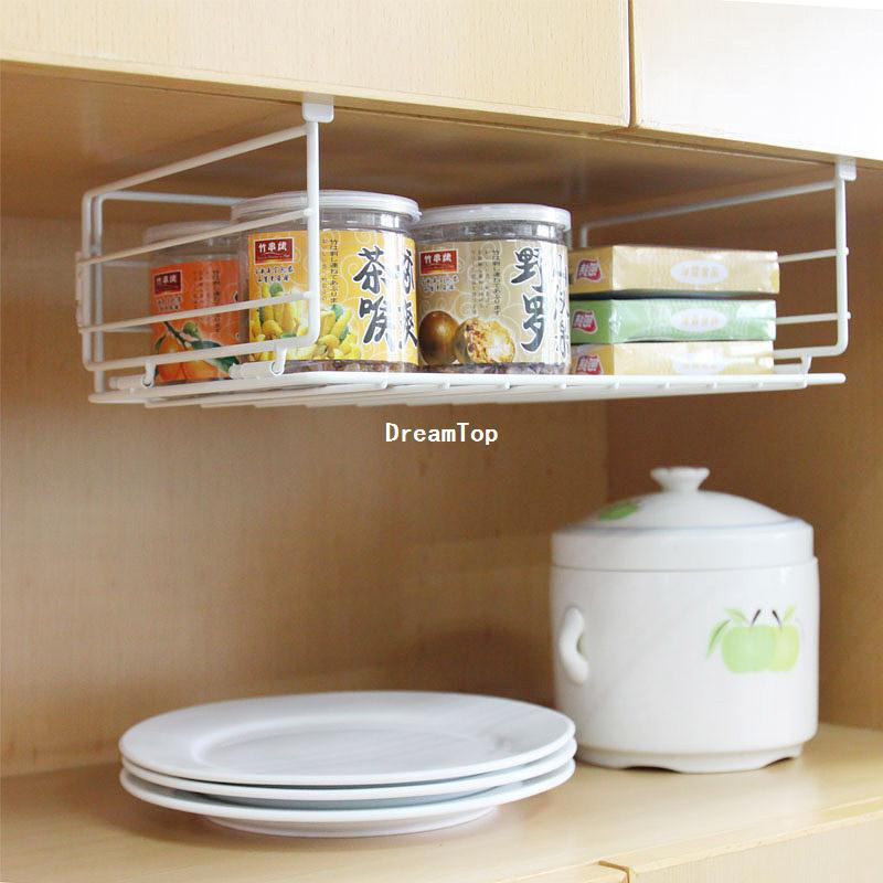 Inexpensive Kitchen Storage Ideas: Cheap Wholesale Under Shelf Wire Rack Storage Organizer