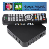 2.1 V351 Android 4.0 Android 4.0 Google TV Box ARM Cortex A9 WiFi HD 1080P HDMI Internet TV Box DDR II 512M Set-Top Box Media Player free drop