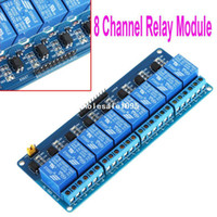 Wholesale New V Active Low Channel Relay Module Board for Arduino PIC AVR MCU DSP ARM Free drop