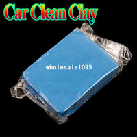 0 0 Synthetic rubber Magic Car Clean Clay Bar Auto tailing Cleaner free drop Wholesale drop