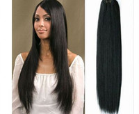 Wholesale TOP quality Trade AAAAA Indian Virgin Remy hair weave silky straight mix length oz pc factory outlet price