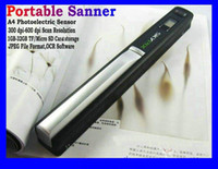 Wholesale Skypix TSN410 Handheld Scanner A4 Portable Color Handy film Scanner Support USB portable document photo scanner handyscan