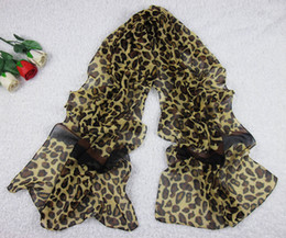 Wholesale Silk Scarves Summer New Arrival Leopard Style CM A11