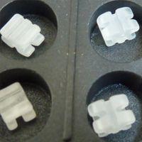 No No Manual Dental Orthodontic Roth Ceramic Bracket Brace with No Hook 0.022