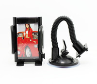 Wholesale Universal Car Holder Stand Degree Rotatable Stand Holder For All Mobile Phones MP4 PDA GPS PSP AAA Quality